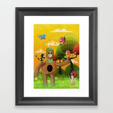 Treeborn Framed Art Print