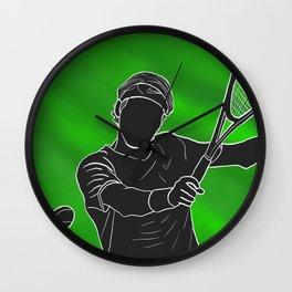 Federer Wall Clock