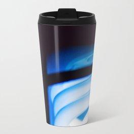 Blue Light District Metal Travel Mug