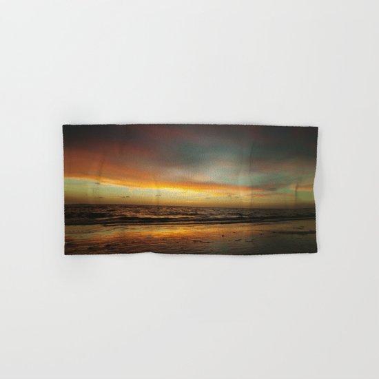 Florida Beach Sunset Hand & Bath Towel