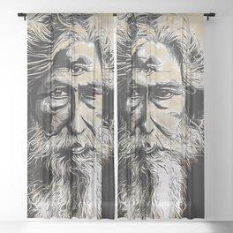 Ajna Third Eye Sheer Curtain