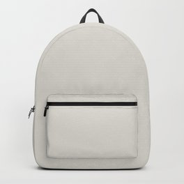 Best Seller Alabaster White Solid Color Pairs with Sherwin Williams Eider White SW7014 Backpack