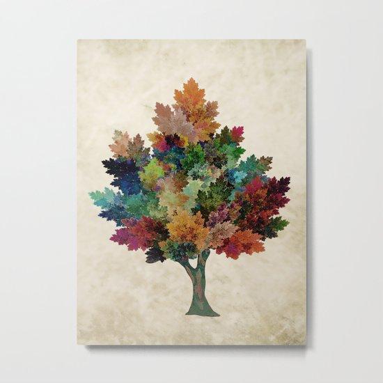 Fall is Back! Metal Print