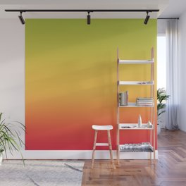 Tropical Colorful Gradient Pattern Wall Mural
