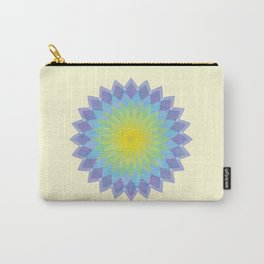 Flower mandala Carry-All Pouch