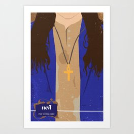 The Young Ones Poster Series :: Neil Art Print