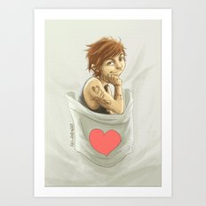 Pocket Louis Art Print