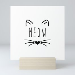 LOVE CATS Mini Art Print