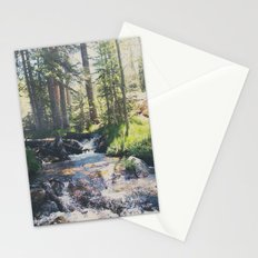 a mountain stream ... Stationery Cards