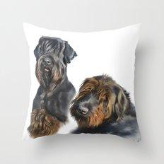scott&gea Throw Pillow