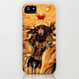 Dark PHOENIX iPhone Case