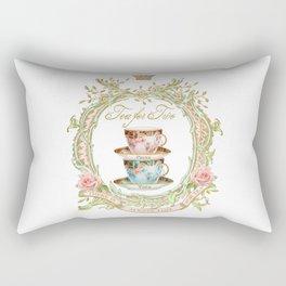 Tea for two Rectangular Pillow