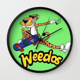 Weedos Wall Clock