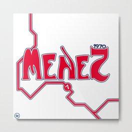 Jeremy Menez Metro: PSG Metal Print