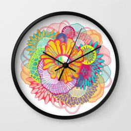 LUXE Bloom 3 Wall Clock