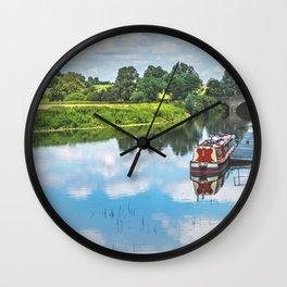 Tewkesbury Waterside Wall Clock