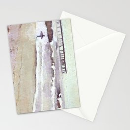 Pale Surfer Stationery Cards