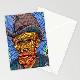 VINCENT VAN GOGH PORTRAIT Stationery Cards