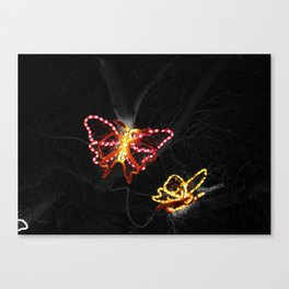 Light in Flight - Selective Coloring Canvas Print