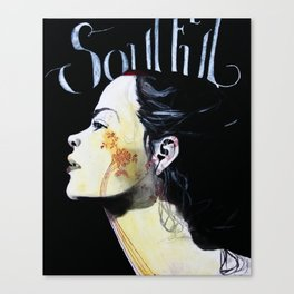 soulful Canvas Print
