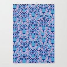 Psychedelic Camouflage Canvas Print