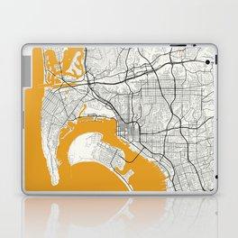 San Diego map Laptop & iPad Skin