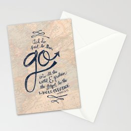 Go Into All The World Stationery Cards