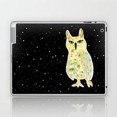 Intergalactic owl Laptop & iPad Skin