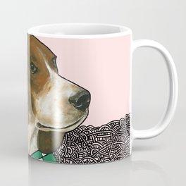 Checkered Beagle Coffee Mug