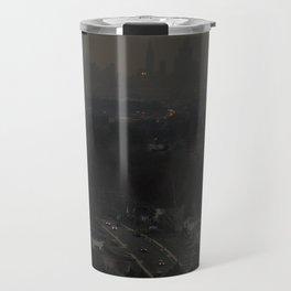 Grey New York Travel Mug