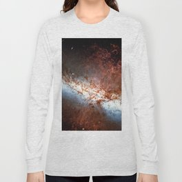 Messier 82, Cigar Galaxy or M82 in the constellation Ursa Major Long Sleeve T-shirt
