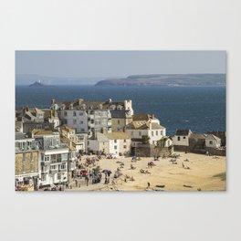 St Ives, Cornwall, England Canvas Print