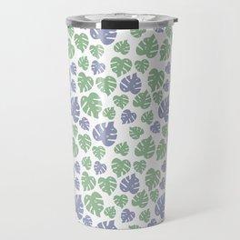 Leafy Pattern Travel Mug