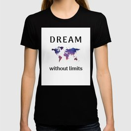 DREAM without limits T-shirt
