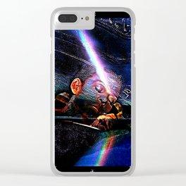 Sleeping Beauty & A Rainbow Clear iPhone Case