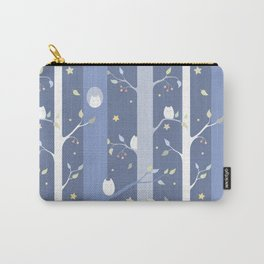 Owl forest (night) Carry-All Pouch