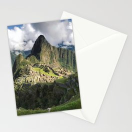 Machu Picchu, Peru Stationery Cards