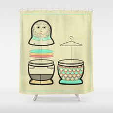 Everybody should have the opportunity to become a mermaid Shower Curtain