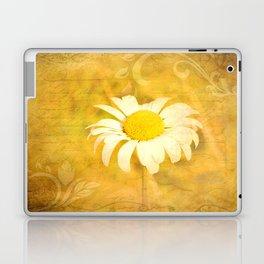 Textured Daisy Laptop & iPad Skin