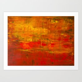 Red (2015) Art Print