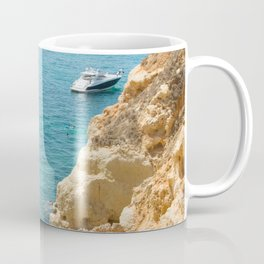 A small inlet suitable for swimming Coffee Mug