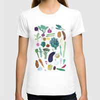 vegetables T-shirts featuring Vegetables by The Printed Peanut