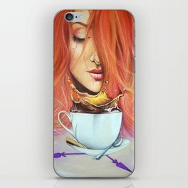 Time is not to blame | Alice in Wonderland iPhone Skin