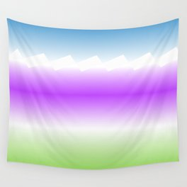 Simple Palet Wall Tapestry