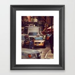 A LAMA IN NEW YORK ***  NEVER STOP EXPLORING VIII Framed Art Print