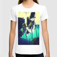 spain T-shirts featuring Menorca Spain by Sankakkei SS