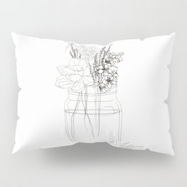 Succulents like to Cuddle Pillow Sham