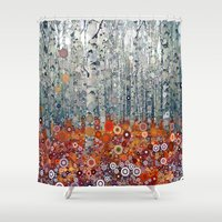 run Shower Curtains featuring :: Run Free Woods :: by :: GaleStorm Artworks ::