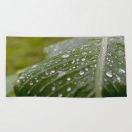 A rainy day Beach Towel