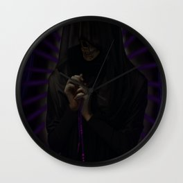 Thoughts & Prayers Collector Wall Clock